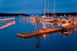Second Prize (Colour): Nanaimo At Dusk - Todd Ross (Nanaimo)