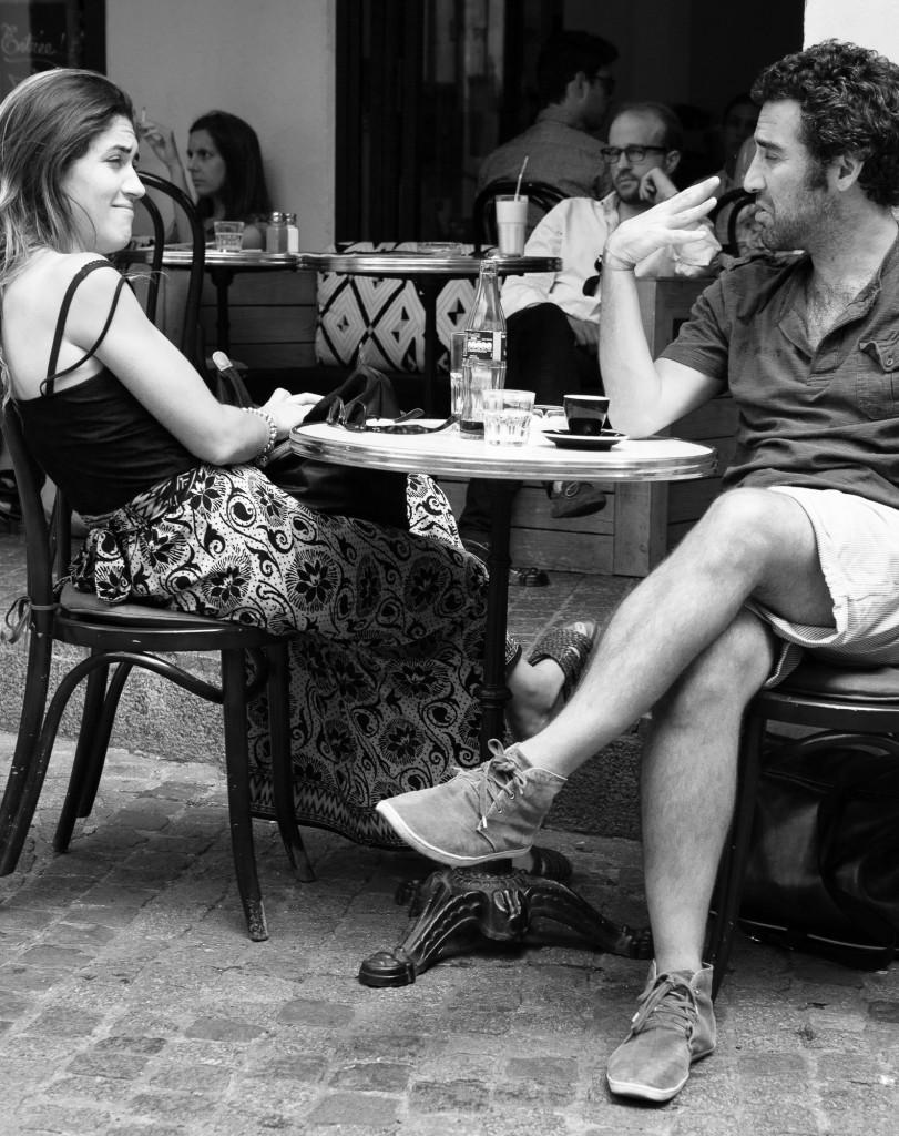 Café near Bastille © 2014 J. Evan Kreider.