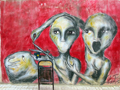 Julier, Havana's prolific street artist (2016)