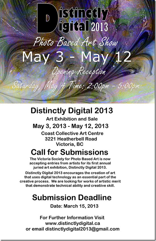 Distinctly Different 2013 Photo Based Art Show