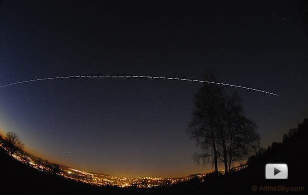 ISS as seen from ground