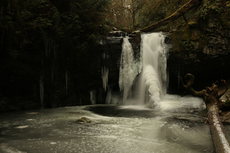 First ~ February 2014 ~ Frozen Ford Falls © Art Jurisson