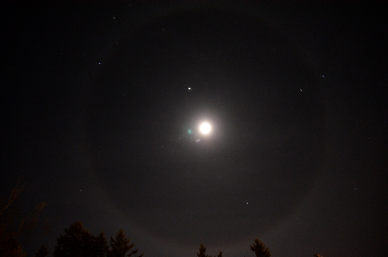 Moon Ring © Brent Browning