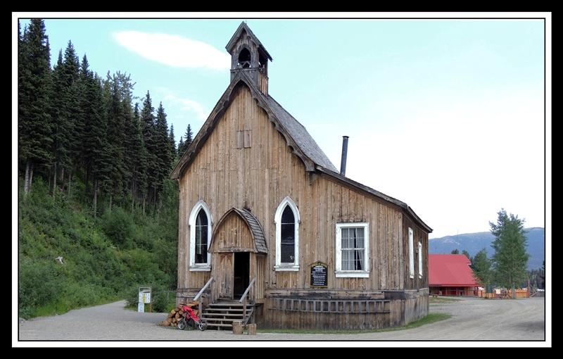 1868 Barkerville Church © Gloria Saunders
