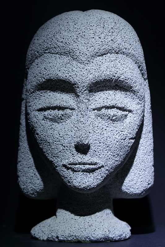 Carved Face © Art Jurisson