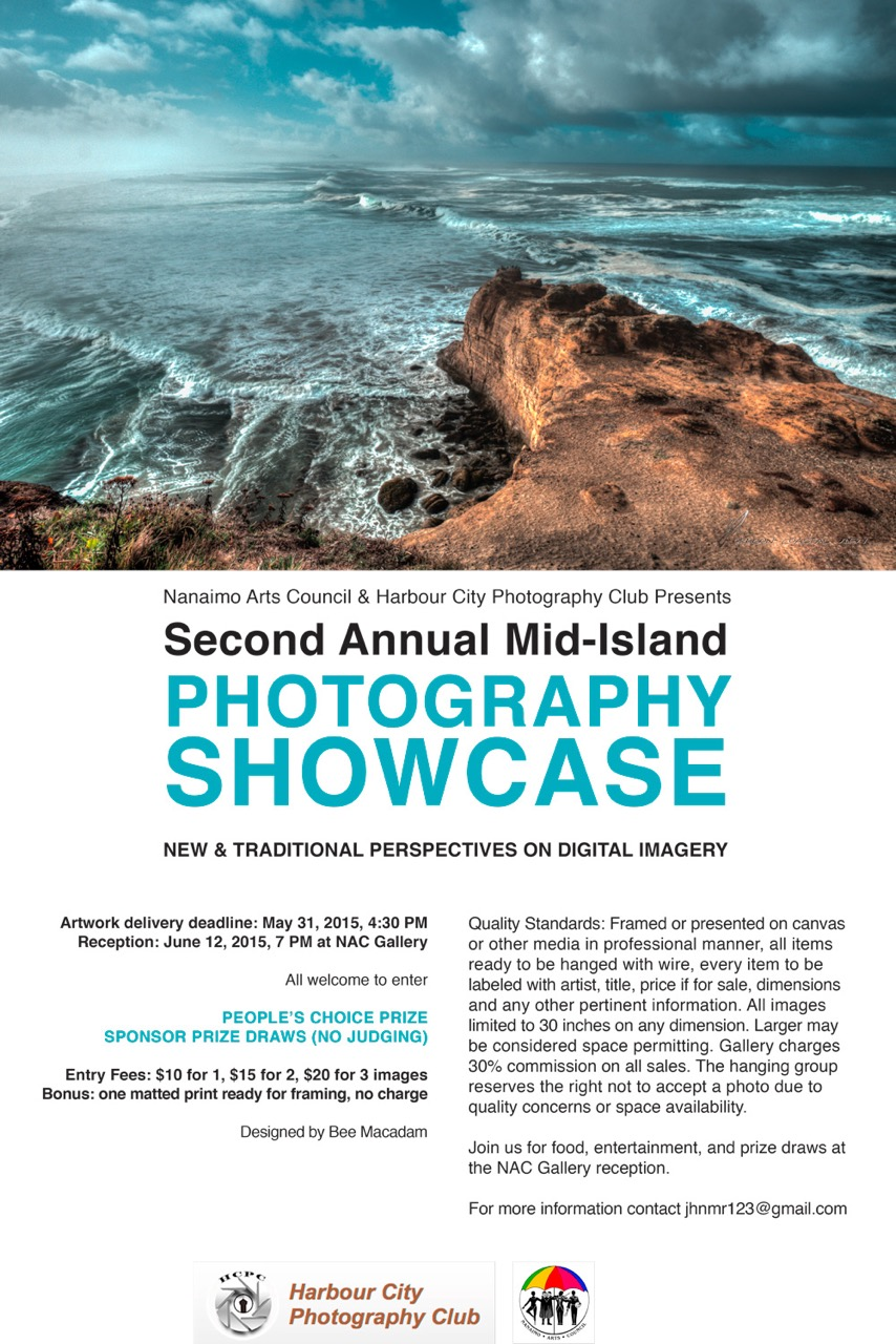 Nanaimo Arts Council 2nd Annual Photography Showcase