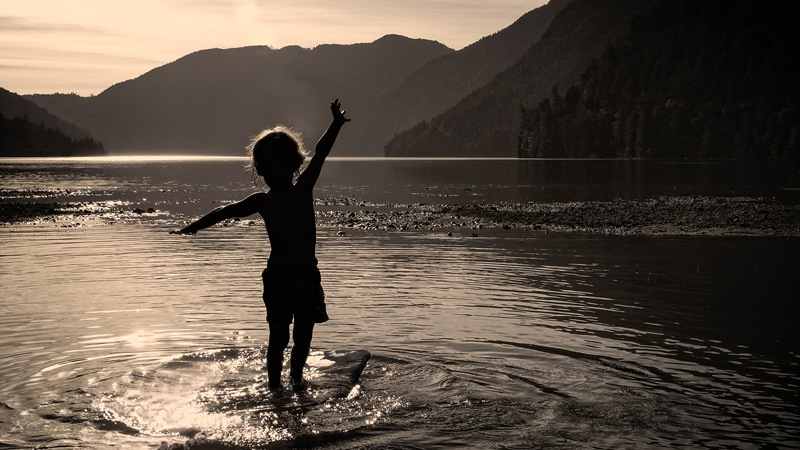 Second ~ August 2015 ~ Lil' Surfer © Erika Nadon