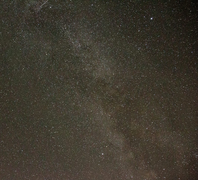 Milky Way Overhead © Betty Todd